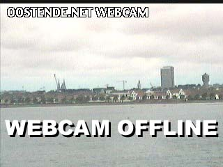 Oostende webcam - Oostende webcam, Flanders, West Flanders
